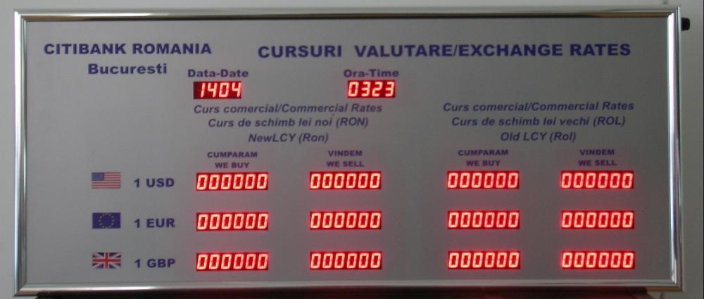 cursuri valutare